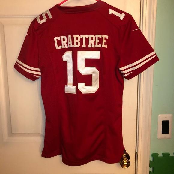 6c83b924f6f NFL san francisco 49ers  15 michael crabtree. M 5b20a3760cb5aa21c78ca2f9